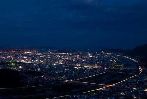 福山市の夜景